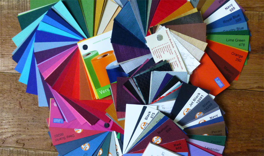 Picking Cloth Swatches